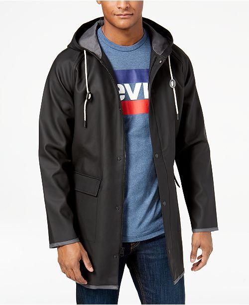 6aa7ff4a0a49c Levi s Men s Hooded Rain Slicker   Reviews - Coats   Jackets - Men ...