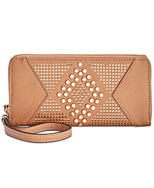 I.N.C. Hazell Perforated Wallet, Created for Macy's