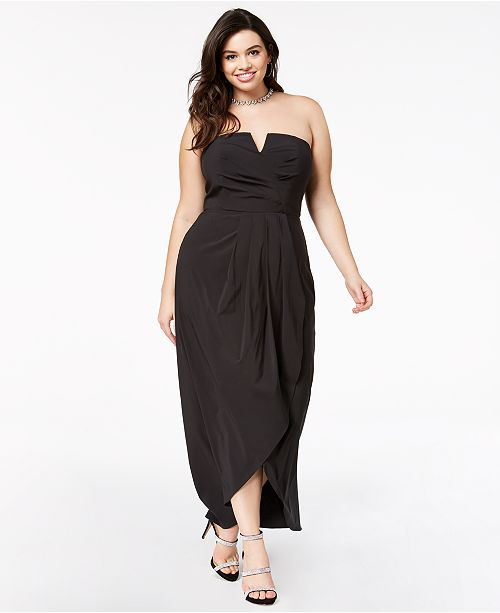 City Chic Trendy Plus Size Draped Maxi Dress & Reviews ...