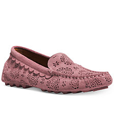 COACH Cosby Driver Perforated Flats