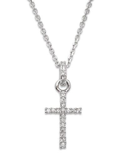 Swarovski necklace crystal cross pendant jewelry watches macys swarovski necklace crystal cross pendant aloadofball Gallery