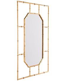 Bamboo-Style Rectangular Mirror