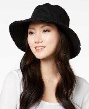 August Hats Cotton Frayed Edge Sun Hat 5712730