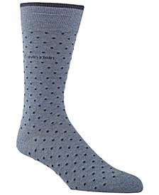 Men's Giza Pindot Crew Socks