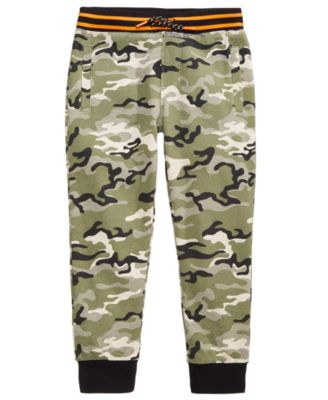 Camo-Print Jogger Pants, Little Boys, Created for Macy's