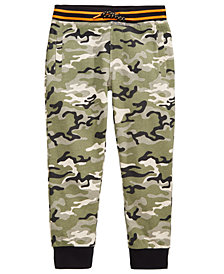 Epic Threads Camo-Print Jogger Pants, Little Boys, Created for Macy's
