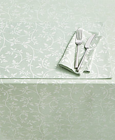 Homewear Belfort Leaves Green Table Linen Collection