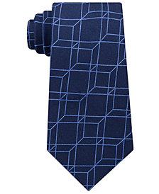 Michael Kors Men's Fineline Optic Geometric Tie