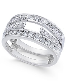 Diamond Enhancer Ring Guard (1 ct. t.w.) in 14k White Gold
