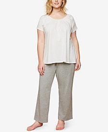 Motherhood Maternity Plus Size Nursing Pajama Set