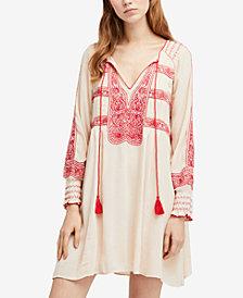 Free People Wind Willow Mini Peasant Dress