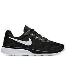 Nike Big Boys'   Tanjun Racer Casual Sneakers from Finish Line
