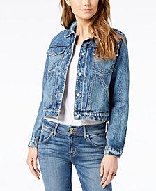 Hudson Jeans Cotton Cropped Denim Jacket