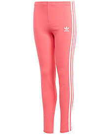 adidas Originals Three-Stripe Leggings, Big Girls
