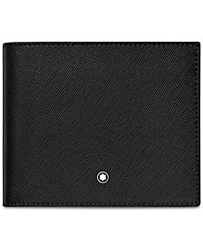 Men's Black Italian Leather Wallet