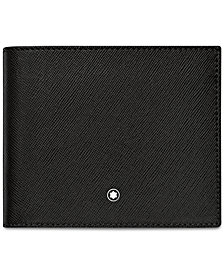 Montblanc Men's Black Italian Leather Wallet