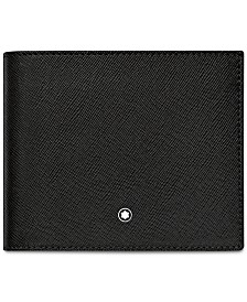 Montblanc Men's Black Italian Leather Wallet