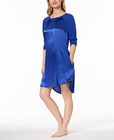 Lauren Ralph Lauren Fashion Wovens Droptail-Hem Nightgown