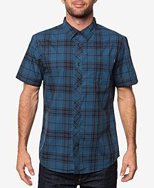 O'Neill Men's Capital Yarn-Dyed Plaid Shirt