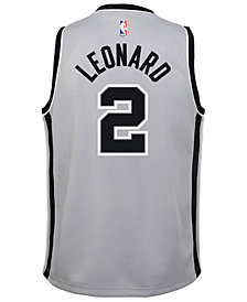 Nike Kawhi Leonard San Antonio Spurs Statement Swingman Jersey, Big Boys (8-20)