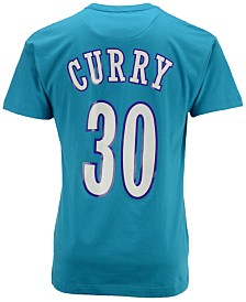 Mitchell & Ness Men's Dell Curry Charlotte Hornets Hardwood Classic Player T-Shirt
