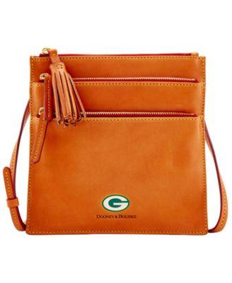 Green Bay Packers Florentine Triple Zip Crossbody Bag