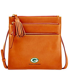 Dooney & Bourke Green Bay Packers Florentine Triple Zip Crossbody Bag