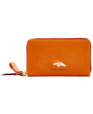Denver Broncos Florentine Zip Around Wallet
