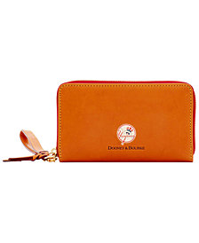 Dooney & Bourke New York Yankees Florentine Zip Around Wallet