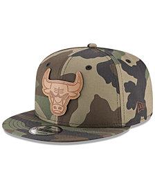 New Era Chicago Bulls Camo 9FIFTY Snapback Cap