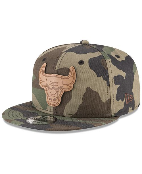 a623eb8e1bd New Era Chicago Bulls Camo 9FIFTY Snapback Cap   Reviews ...