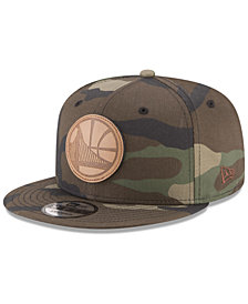New Era Golden State Warriors Camo 9FIFTY Snapback Cap