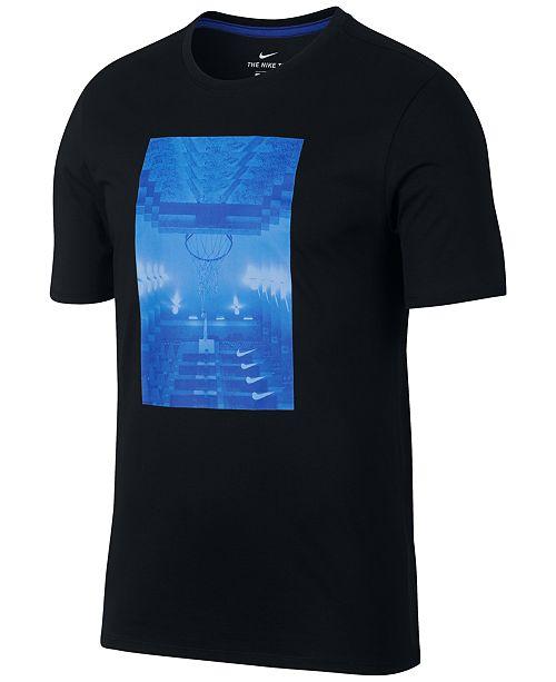 21b6442c0512 Nike Men s Dri-FIT Graphic Basketball T-Shirt   Reviews - T-Shirts ...