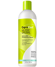 Deva Concepts DevaCurl No-Poo Zero Lather Conditioning Cleanser, 12-oz., from PUREBEAUTY Salon & Spa