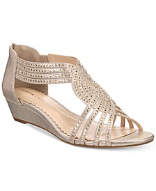Ginifur Wedge Sandals, Created for Macy's