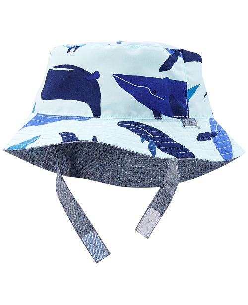 3e944c1a Carter's Whale-Print Sun Hat, Baby Boys & Reviews - All Kids ...
