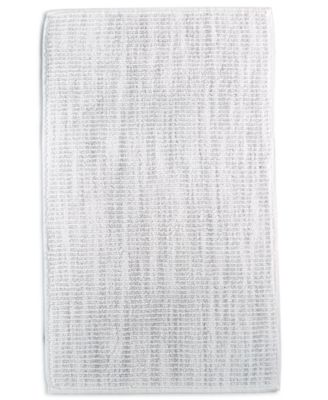 """LAST ACT! Fashion 22"""" x 36"""" Textured Flat-Weave Bath Rug, Created for Macy's"""