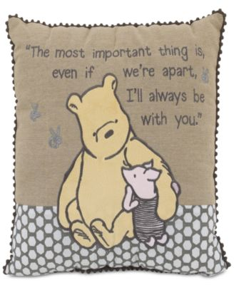 A Day With Pooh Decorative Pillow