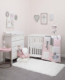 Nojo Ballerina Bows 4-Pc. Crib Set