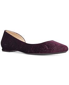 Nine West Spruce D'Orsay Flats