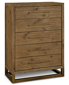 Prato 5-Drawer Chest, Created for Macy's