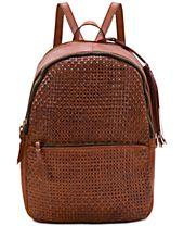 Patricia Nash Woven Turi Small Backpack