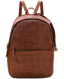 Patricia Nash Woven Turi Backpack