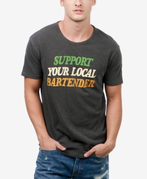 Lucky Brand Men's Support Your Local Graphic-Print T-Shirt