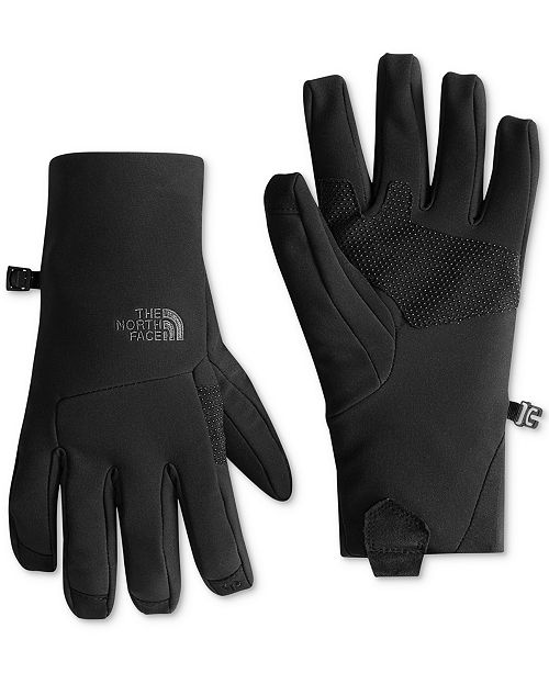 d2a380102 The North Face Gloves, Etip Apex Soft Shell Glove & Reviews - Hats ...