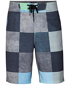 "Hurley Men's Phantom Kingsroad Check 20"" Board Shorts"