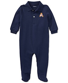 Ralph Lauren Baby Boys Cotton Coverall