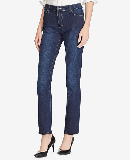 Lauren Ralph Lauren Super Stretch Premier Straight Jeans
