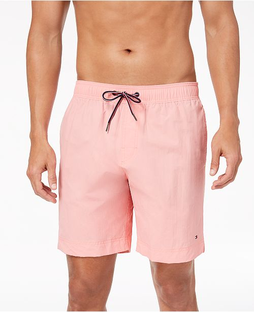 7d87250f Tommy Hilfiger Men's Tommy 7.5'' Swim Trunks, Created for Macy's ...