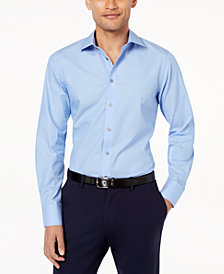 Tallia Men's Slim-Fit Tonal Dobby Dress Shirt